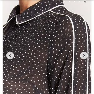 Forever 21 Tops - Semi-Sheer Arrow Print Shirt